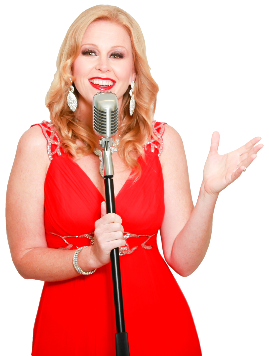 image of dubai singer with microphone